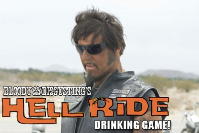 gamelogo Bloody Disgustings Official Hell Ride Drinking Game!