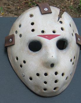 Hockey mask and big cock