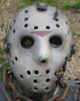 Official Friday the 13th Jason Black Messenger Shoulder Bag