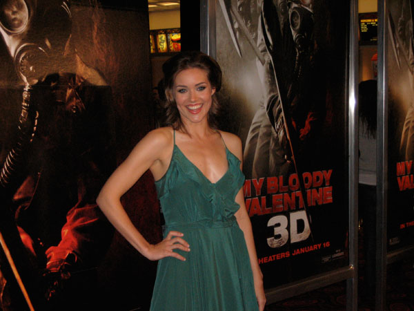 11 Red Carpet Premiere Pics & 6 Clips From My Bloody Valentine!