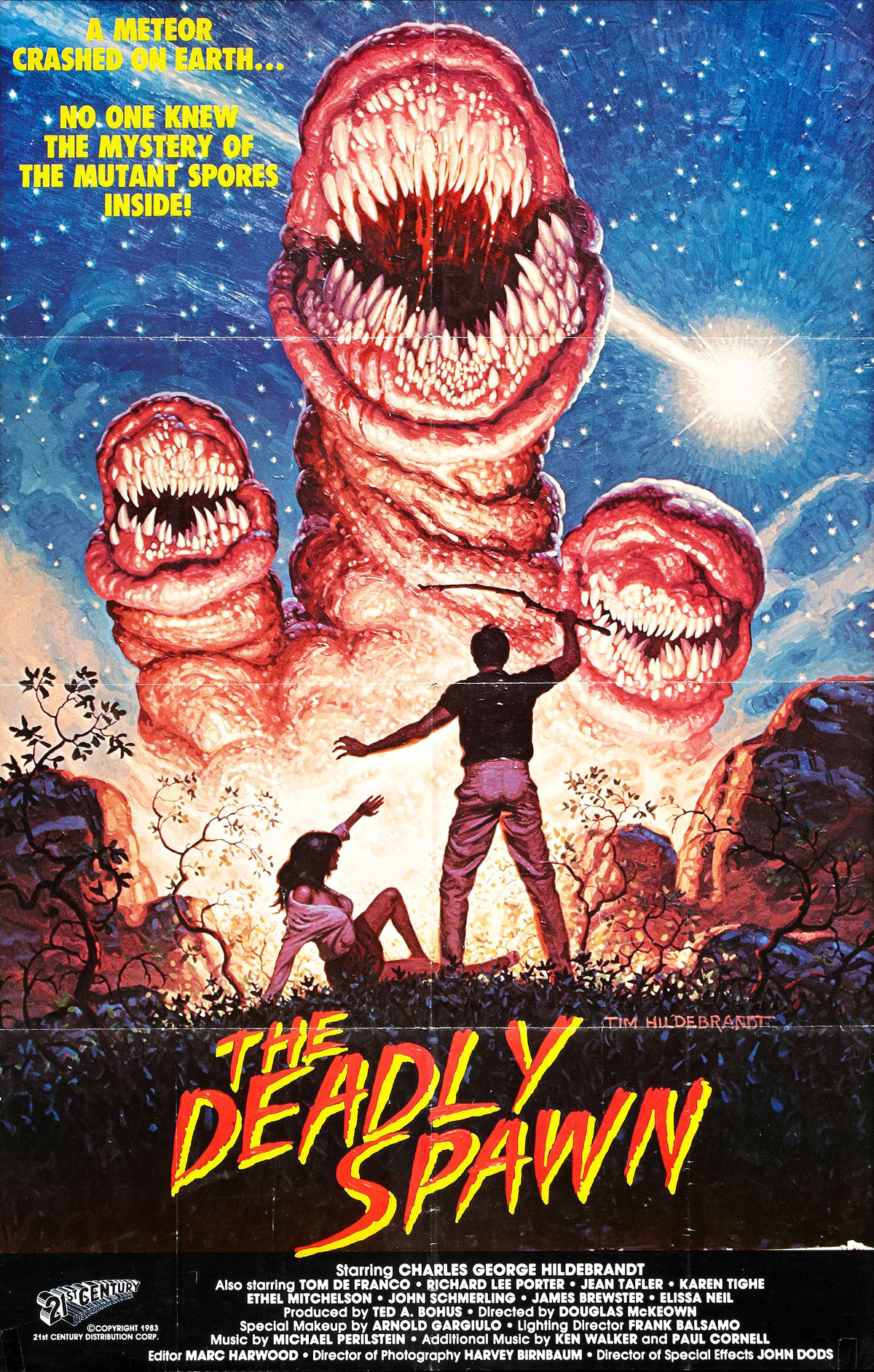 The Deadly Spawn - poster