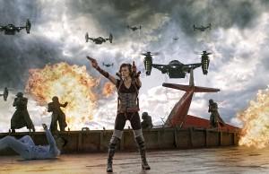 Milla Jovovich RESIDENT EVIL: RETRIBUTION