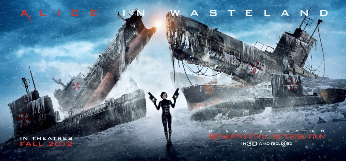 New Resident Evil Retribution Poster Takes You To The Wasteland