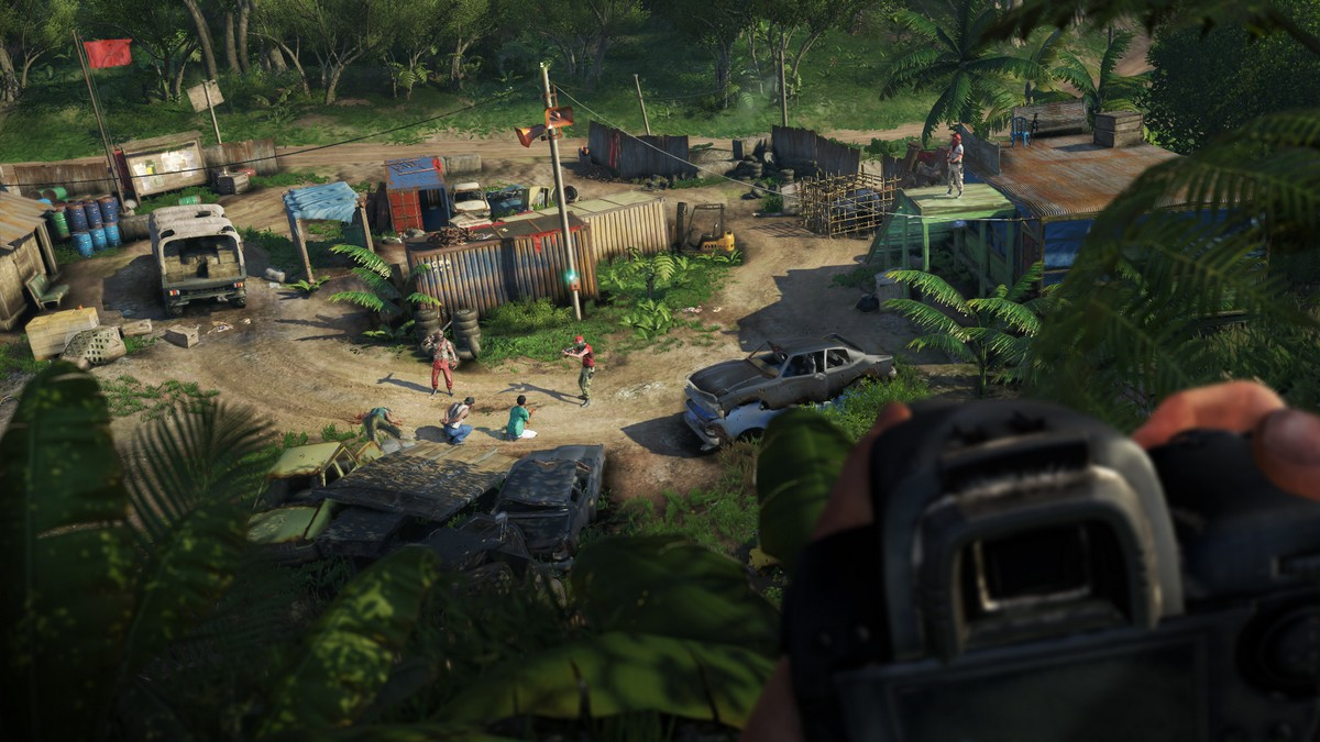 Gamescom 2012 get involved in far cry 3s 4 player co op mode farcry3 3 gumiabroncs Choice Image