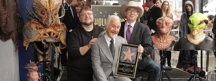 Oscar Winning Make-Up Artist Rick Baker Receives A Star On The Hollywood Walk Of Fame