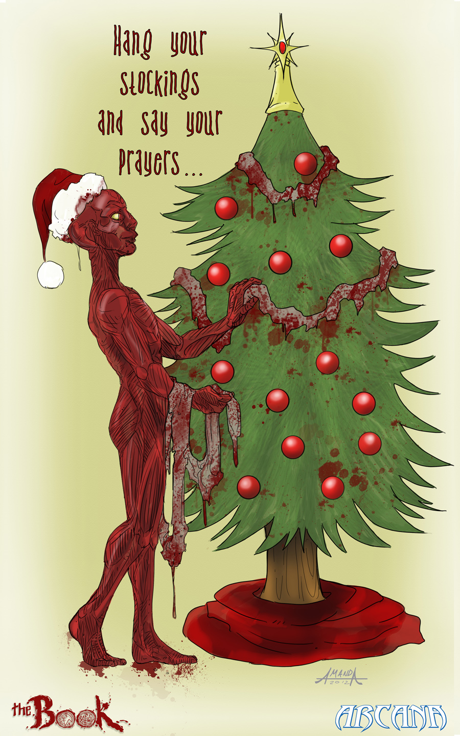 Bloody Christmas Tree.More Free Reads From Arcana With Chapter 1 Of The Book