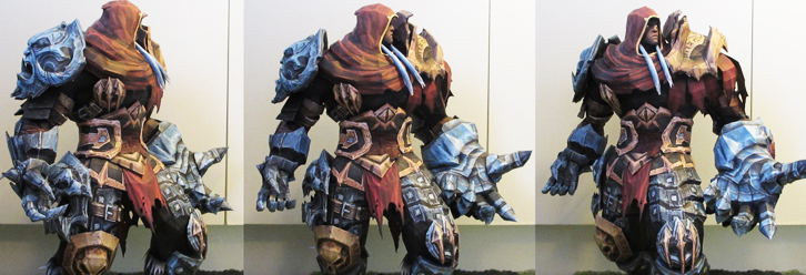 Holy Crap, A 'Darksiders' Fan Created War Out Of Paper