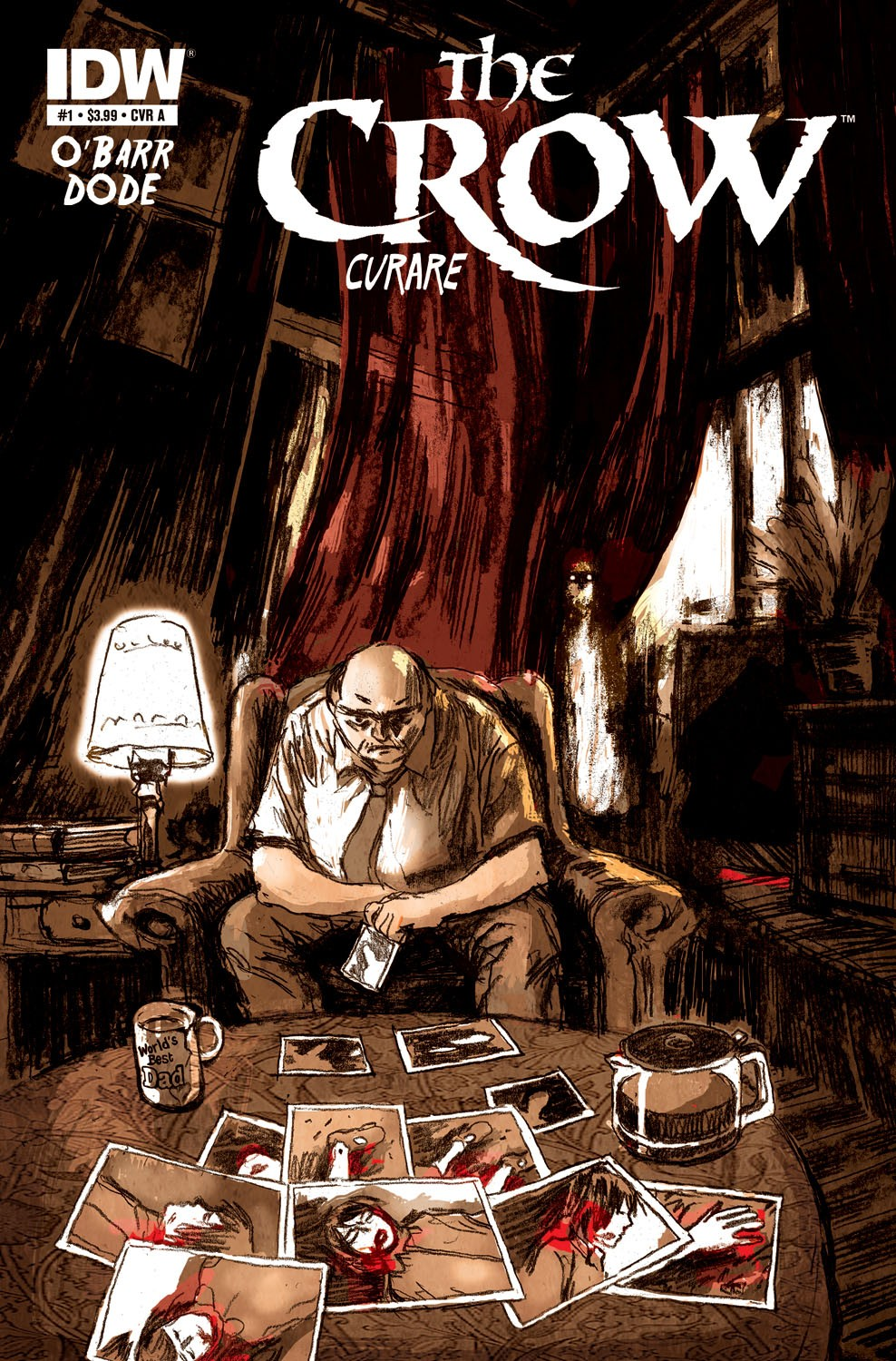 IDW THE CROW CURARE 1 COVER B