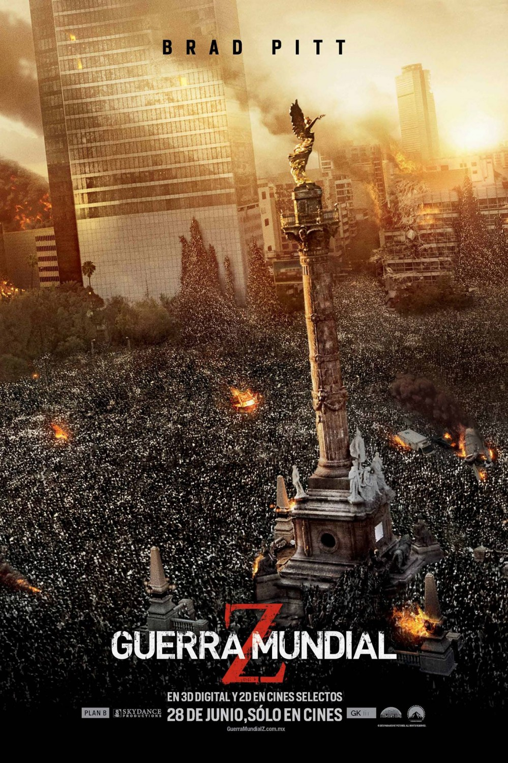 Mexico Infected With 'World War Z' Zombie Horde - Bloody