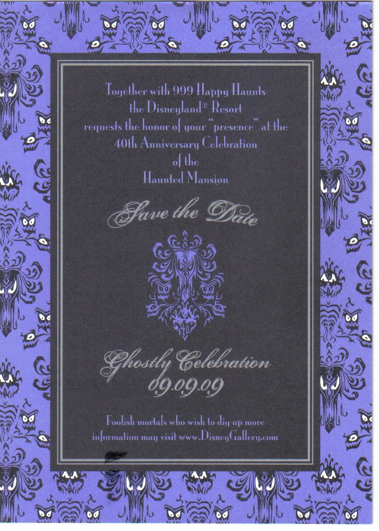 DISNEY INVITATION