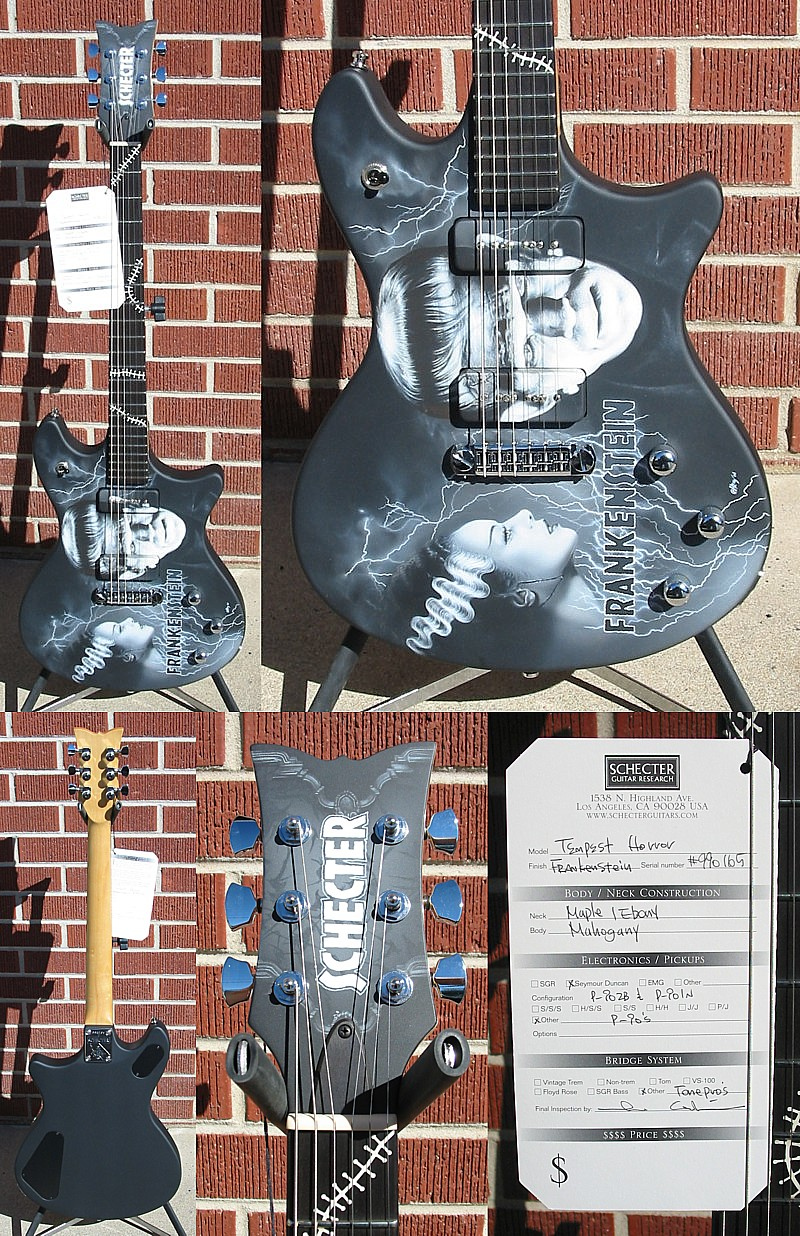 Schecter 2007 USA CUSTOM SHOP FRANKENSTEIN CUSTOM 6-String Electric Guitar