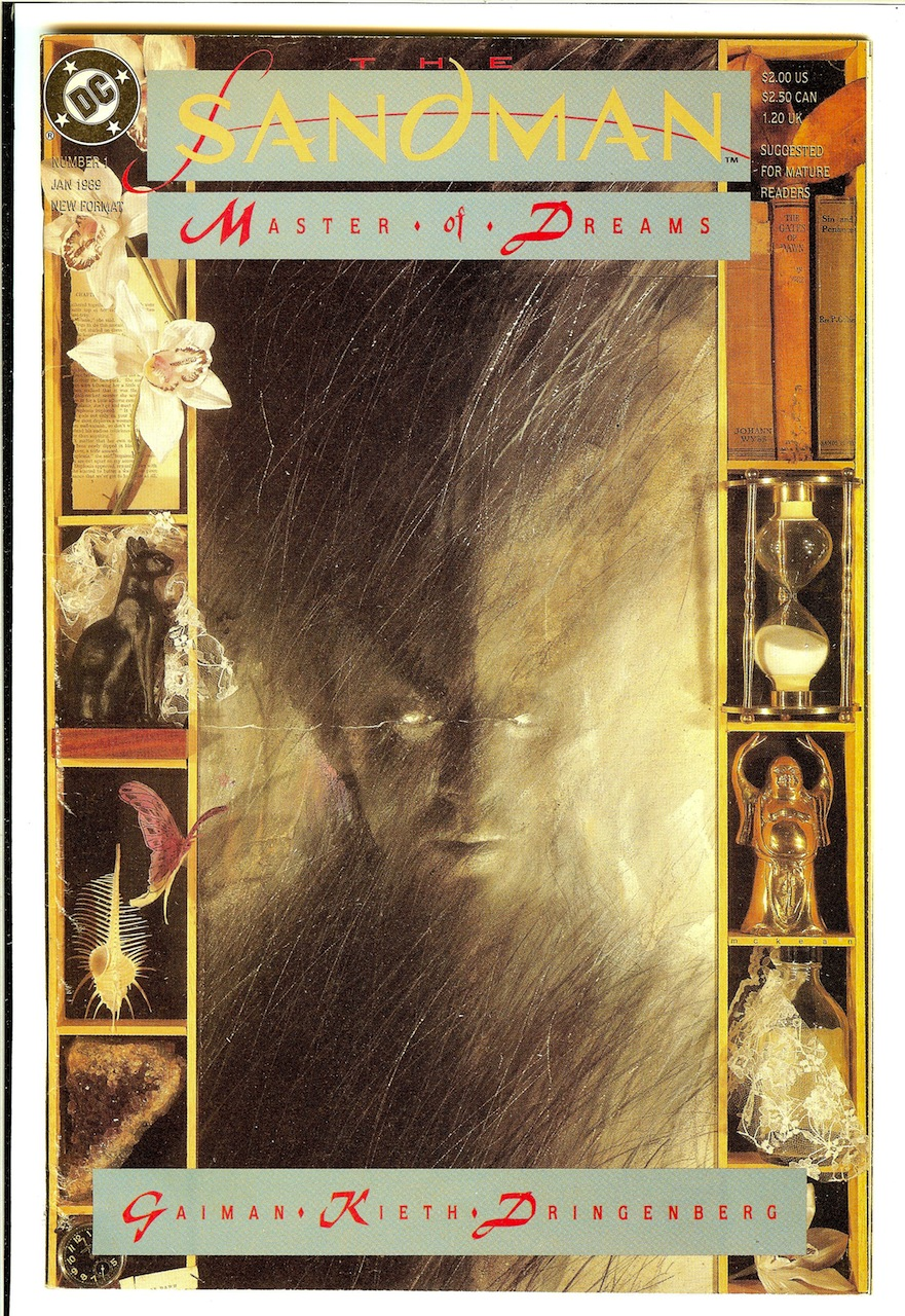 Visions Of Horror] Dave McKean's Cover For 'The Sandman' #1 ...