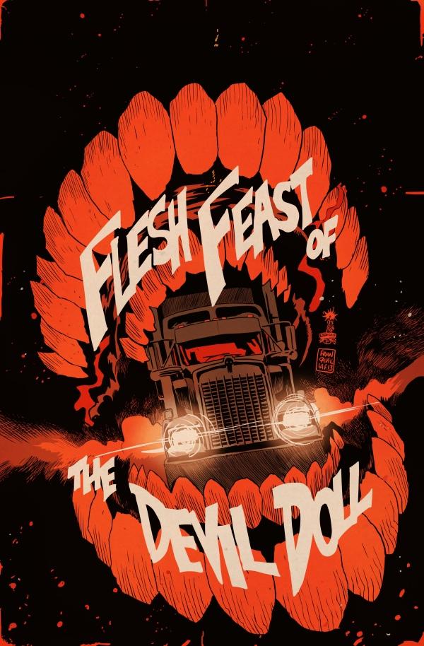 grindhouse_flesh_feast_of_devil_doll_Francavilla_cover_low