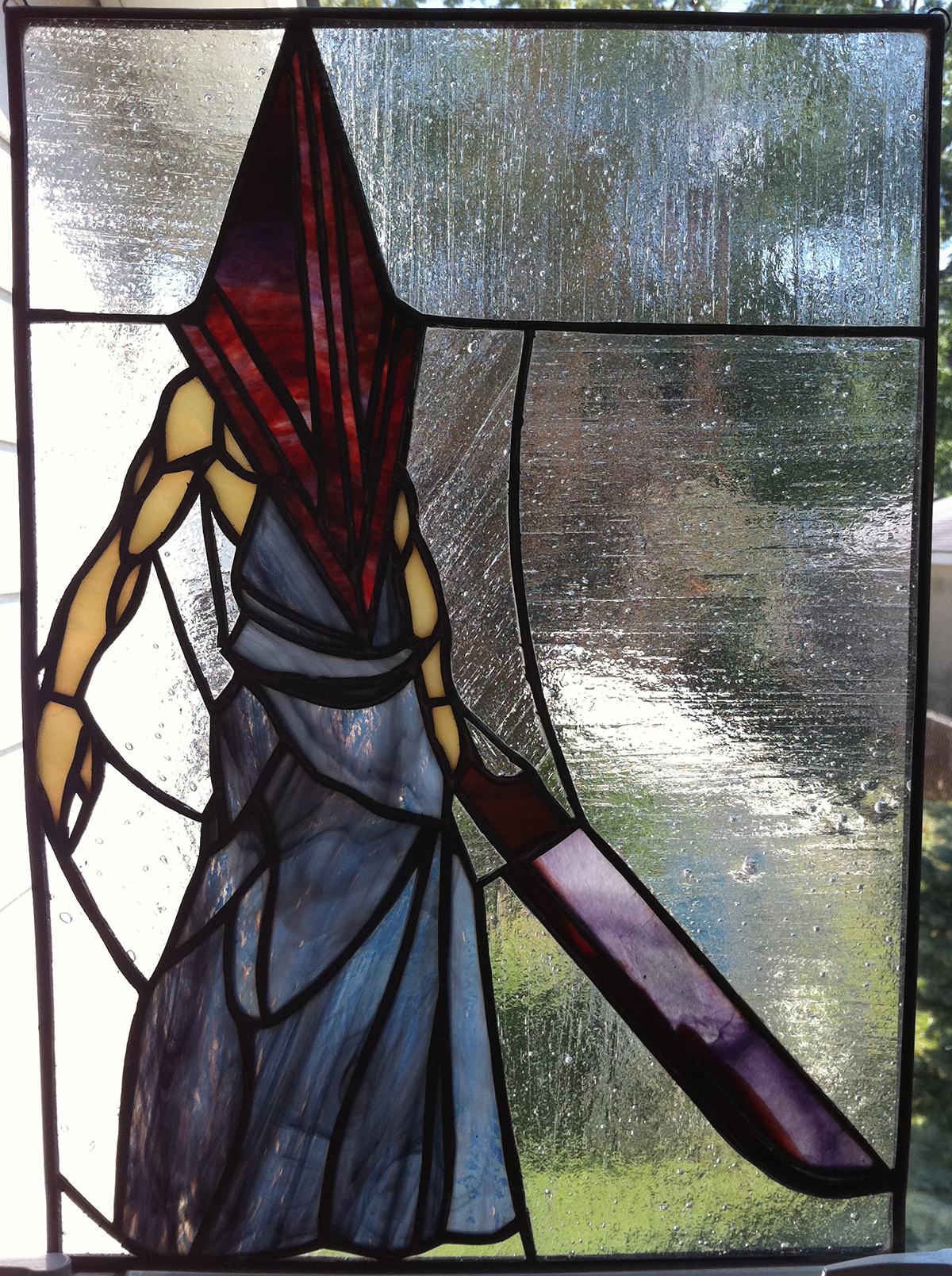 Random Cool This Video Game Themed Stained Glass Would