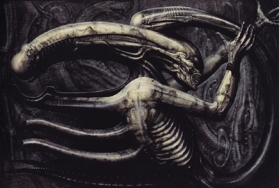 [Visions of Horror] H.R. Giger's 'Necronomicon' / Ridley ... H.r. Giger Necronomicon