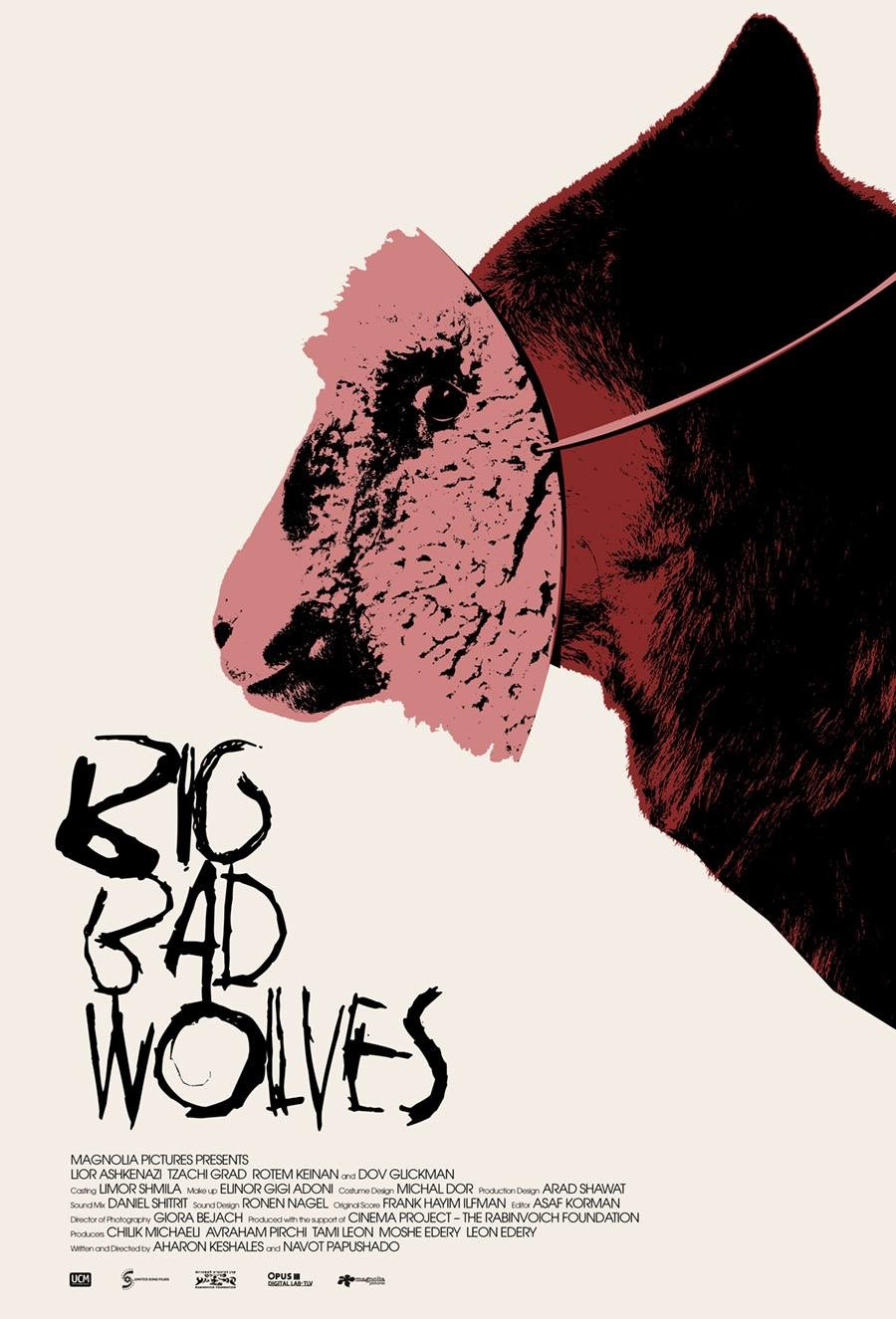 Awesome Alternate Big Bad Wolves Posters