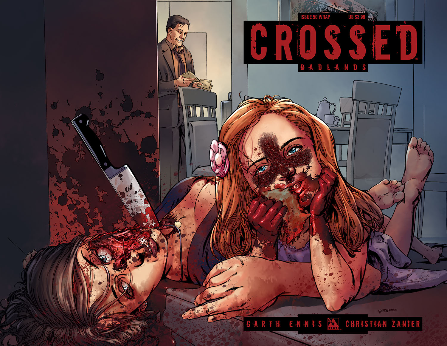 interview garth ennis reveals the origin of the crossed virus