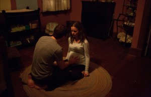 Zach comforts Sams Belly
