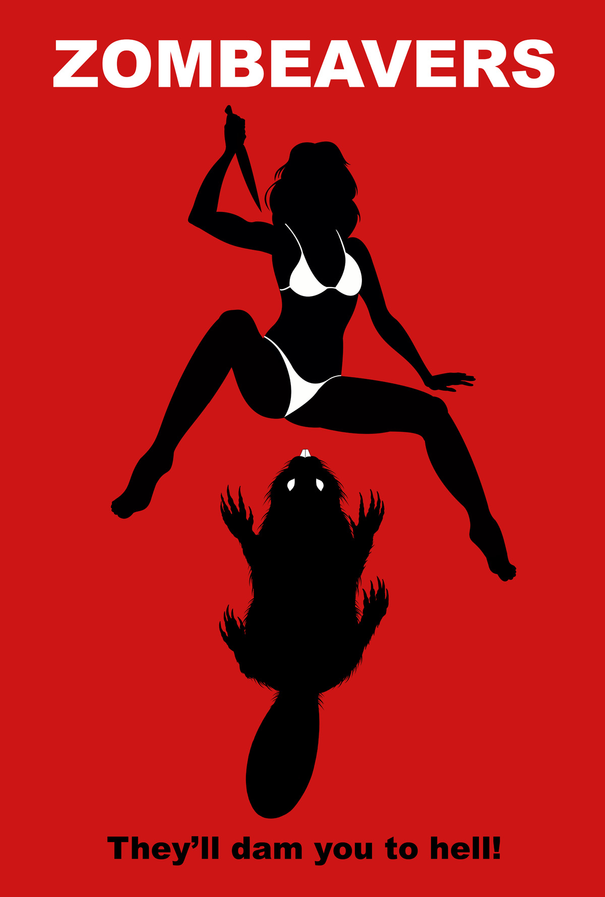 Zombeavers Poster - Bloody Disgusting!