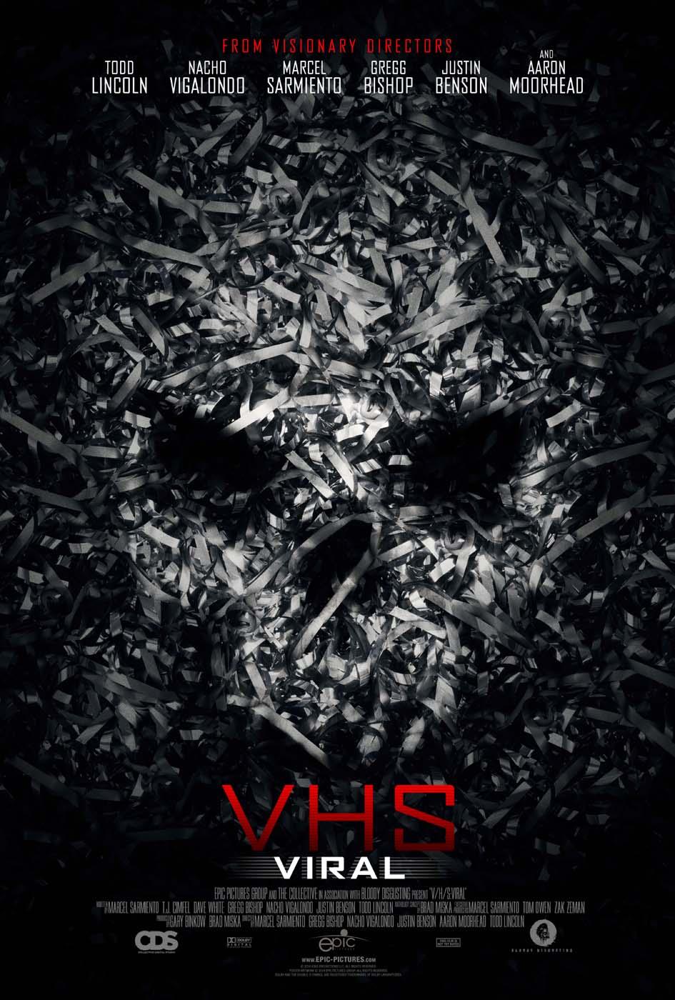 V/H/S Viral VHS Viral Poster