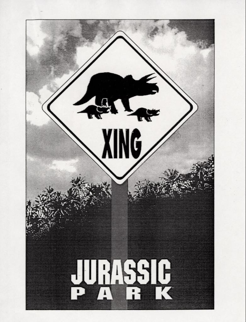 John Alvin – Jurassic Park poster – 10