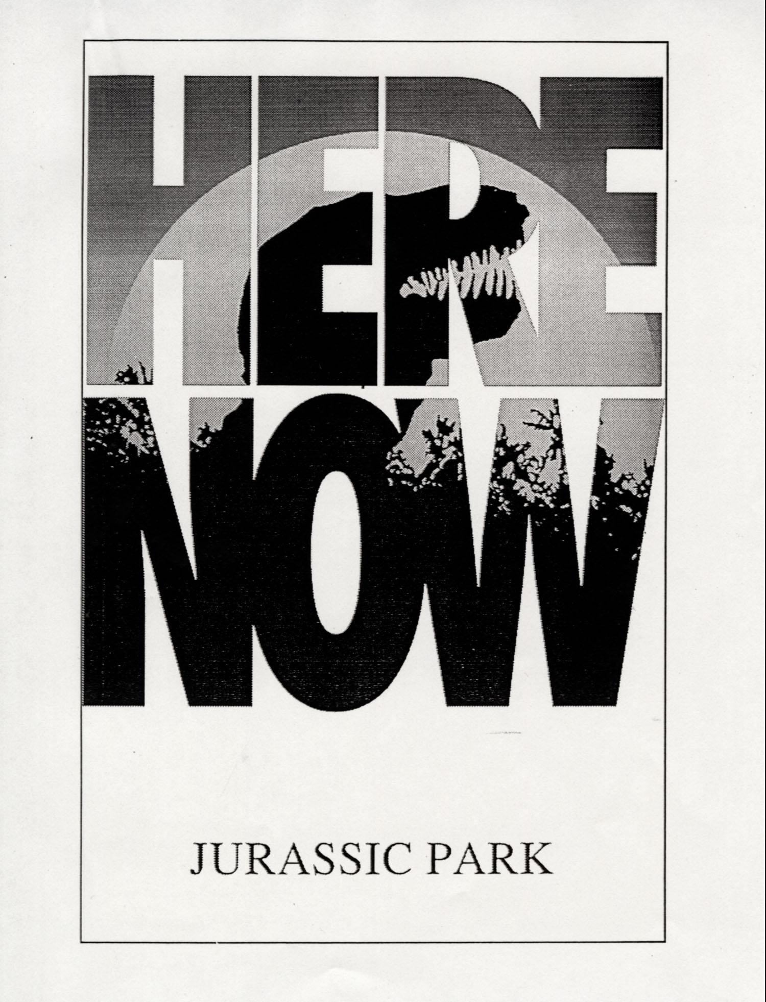 John Alvin – Jurassic Park poster – 5