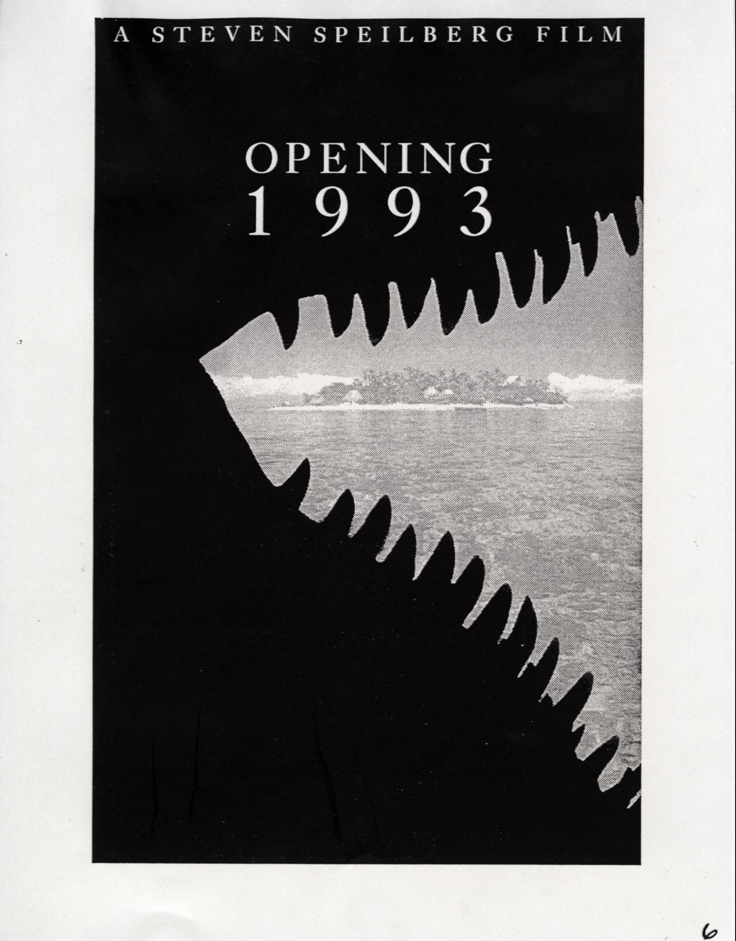 John Alvin – Jurassic Park poster – 9