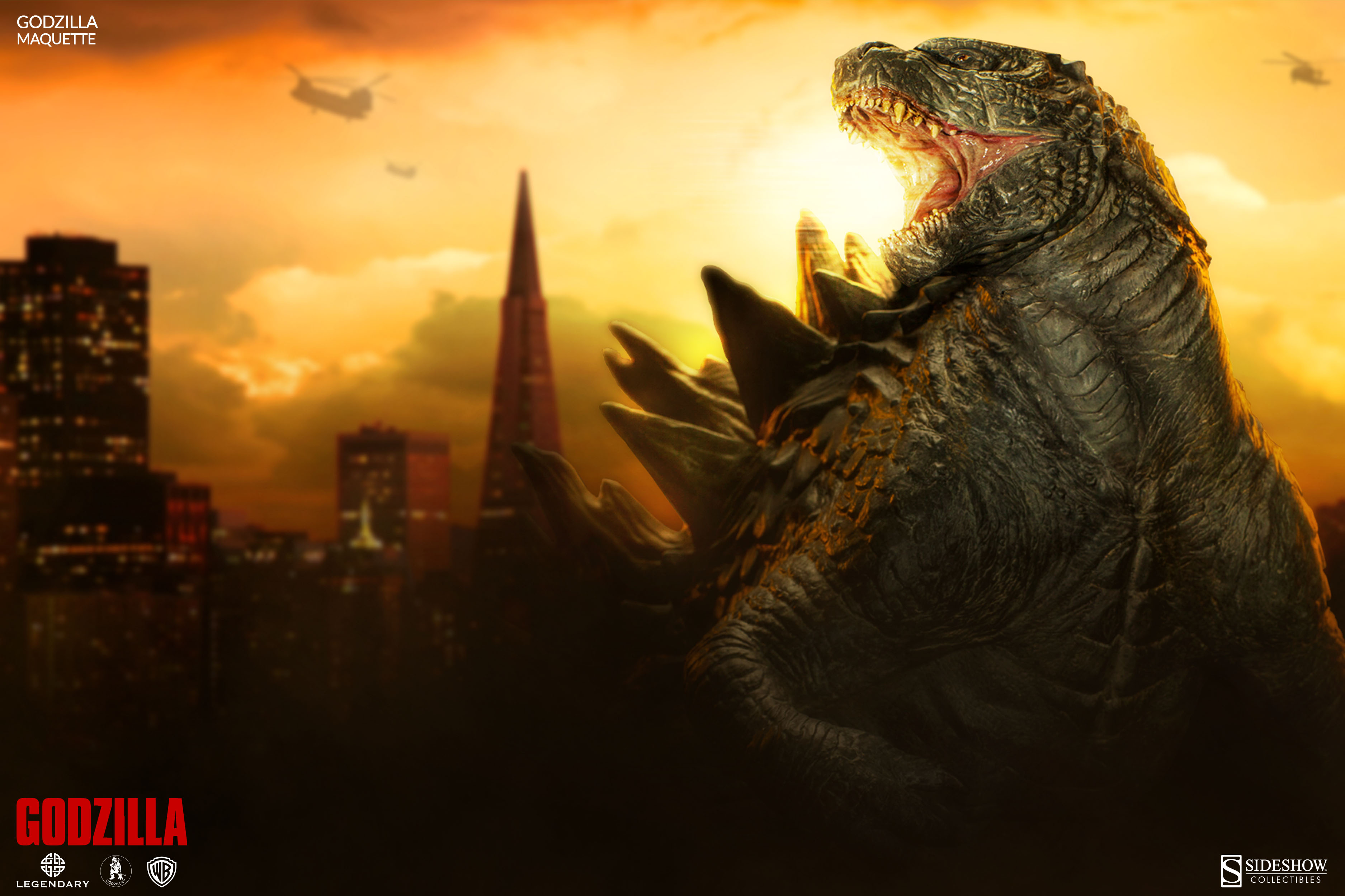 Sideshow's Epic 'Godzilla' Maquette - Bloody Disgusting
