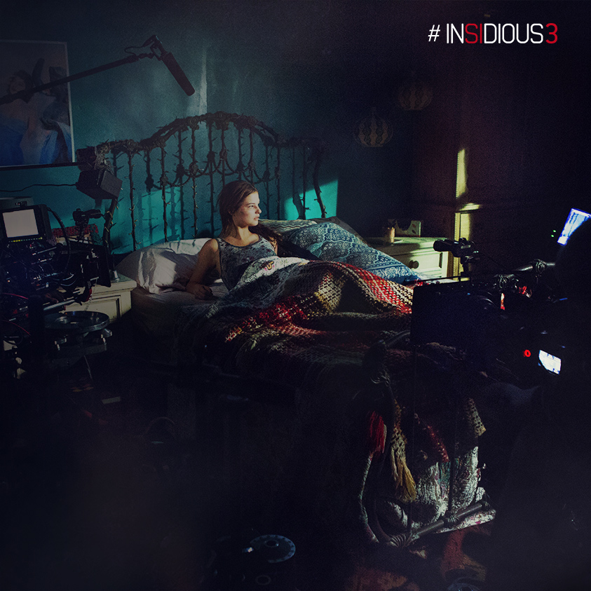 Insidious Chapter 3 Behind The Scenes Stills Bloody Disgusting