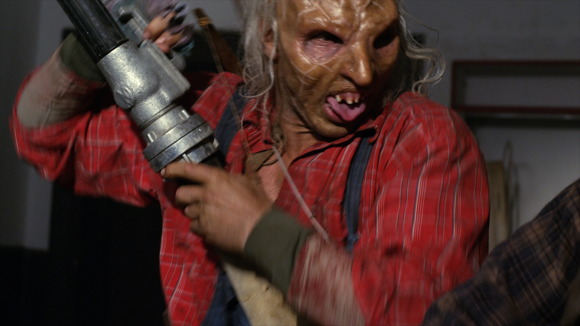 Exclusive 'Wrong Turn 6' Clip Grabs a Fire Hose - Bloody