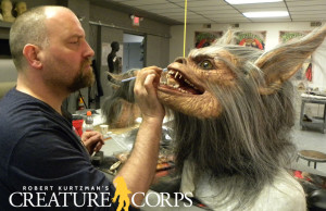 Robert Kurtzman details werewolf head