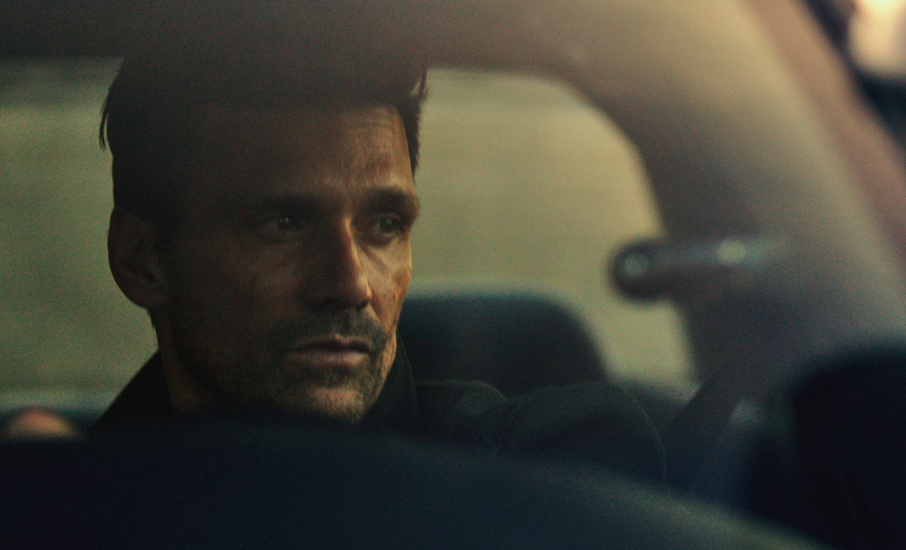 """FRANK GRILLO as Leo in """"The Purge: Anarchy."""" ©Universal Pictures."""
