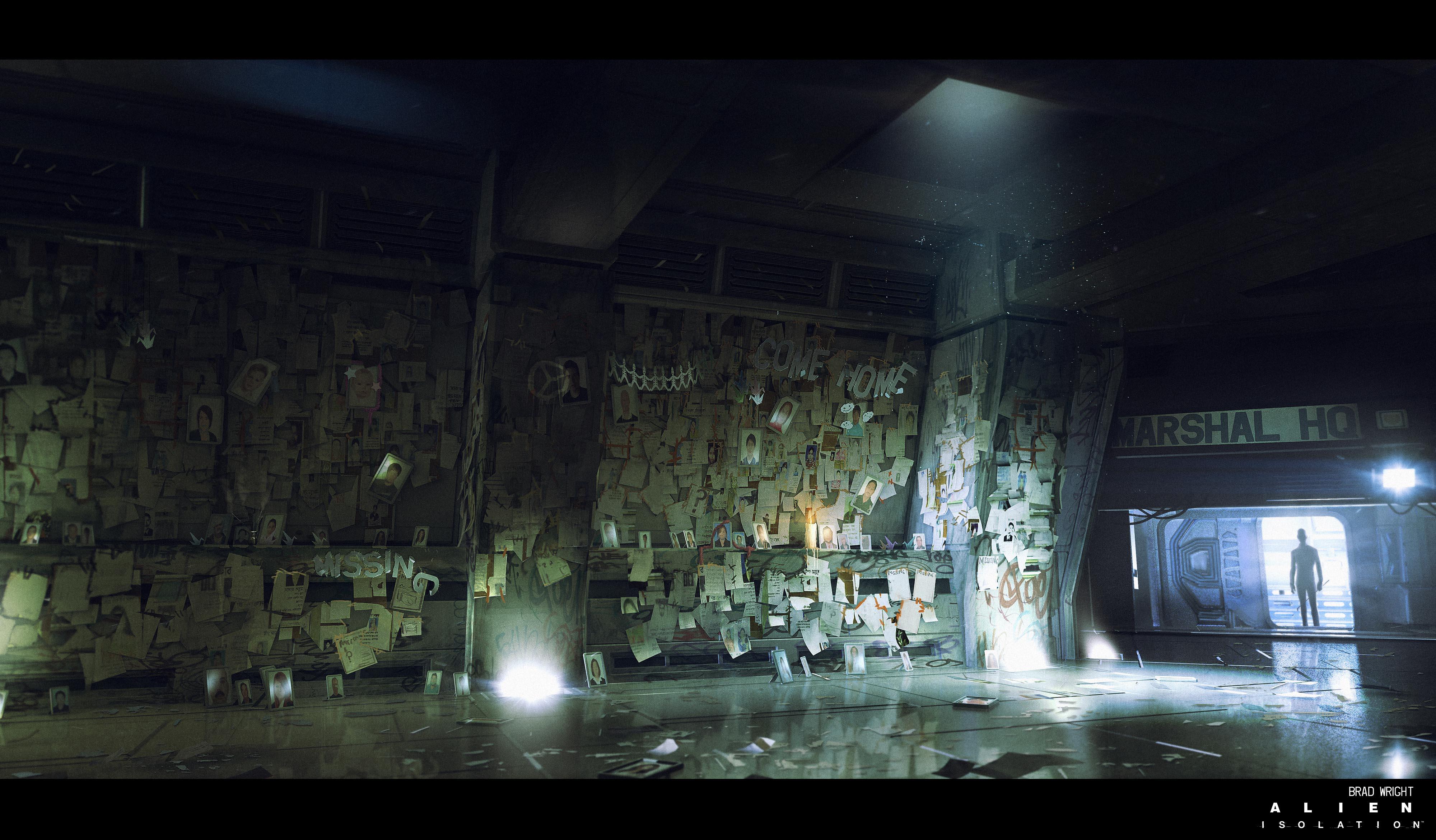 Alien Buildings Concept Art