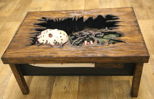 Super Friday The 13Th The Coffee Table Bloody Disgusting Machost Co Dining Chair Design Ideas Machostcouk