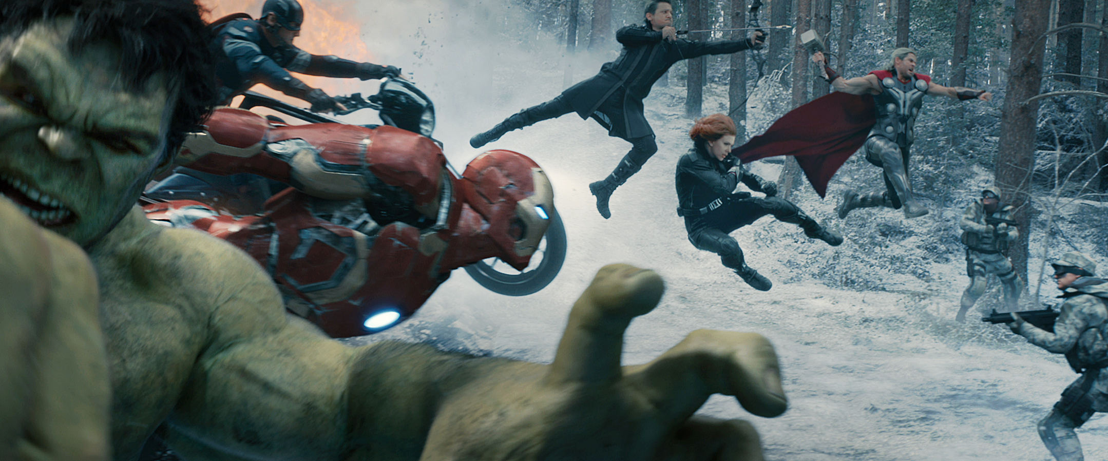 Avengers: Age of Ultron': 75+ High-Resolution Images! - Bloody ...