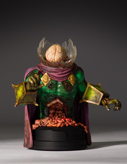 This Zombie Mysterio Bust From Gentle Giant Has Guts