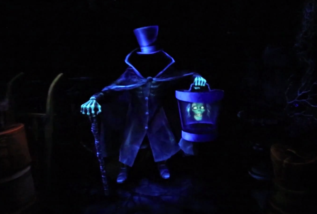 The Hatbox Ghost Is Back At Disneyland
