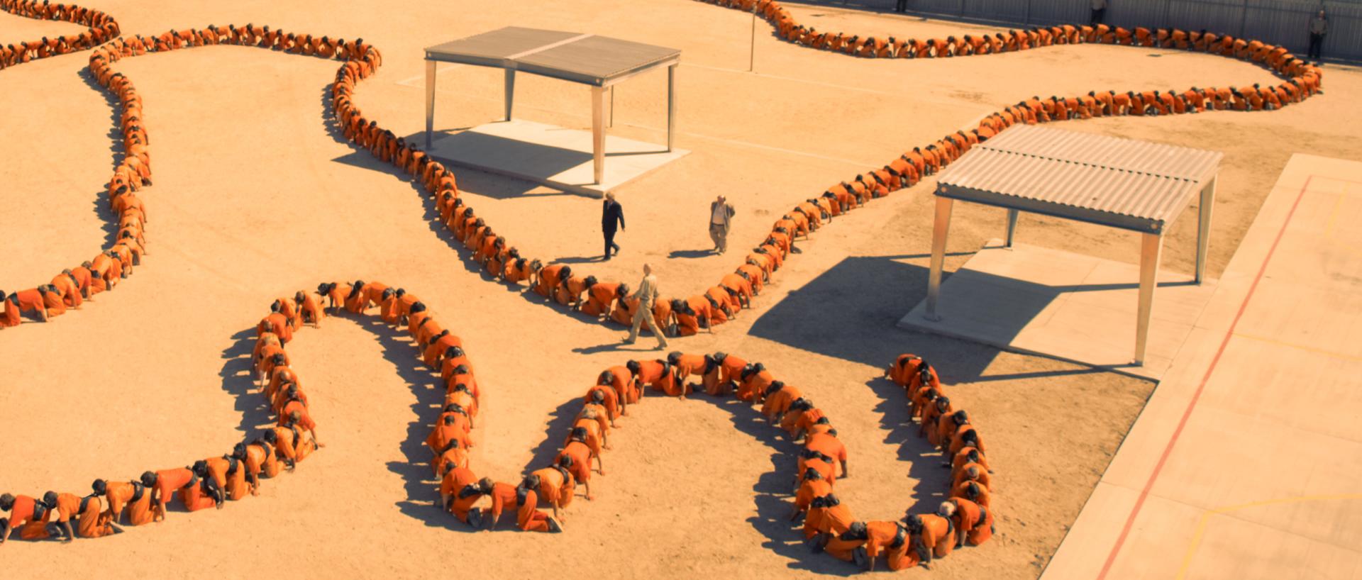 Human Centipede 3, image via IFC and Six Ent.