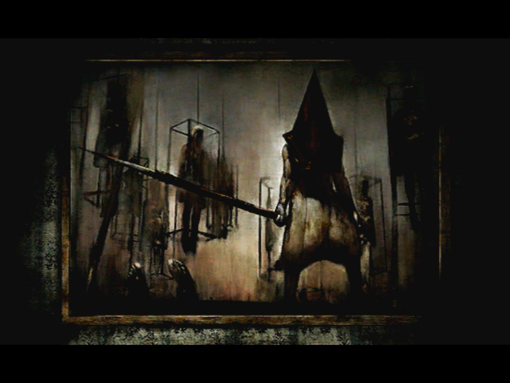 Famous Silent Hill 2 Painting Has Been Redone With Blood