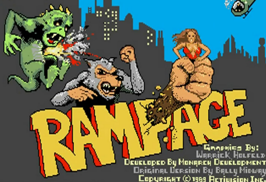 You Can Now Buy a Retro-Authentic 'Rampage' Arcade Cabinet for Just $300! - Bloody Disgusting