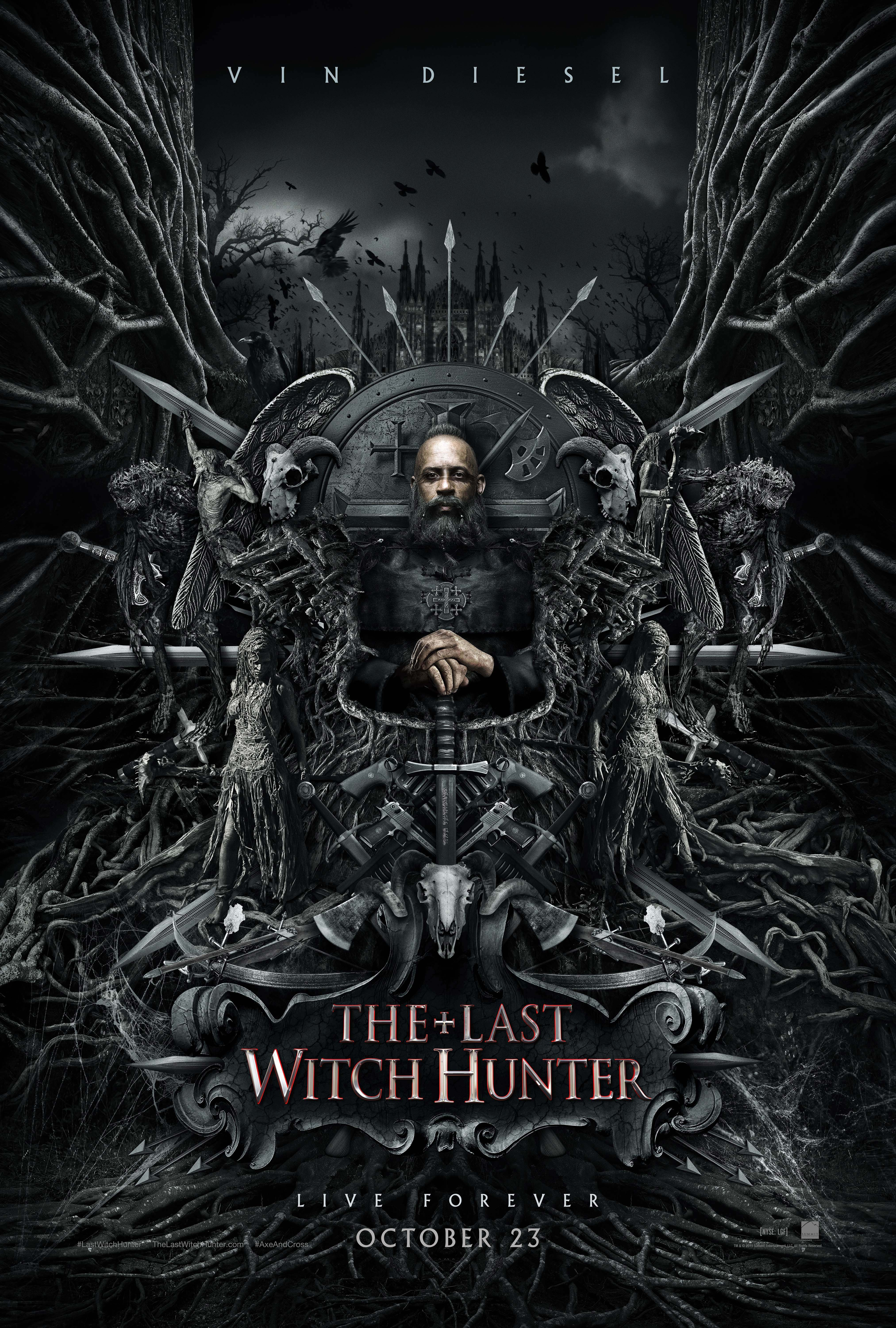 Last Witch Hunter Poster Courtesy Of Lionsgate