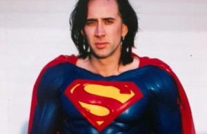 Nicolas Cage as Superman in The Death of Superman Lives