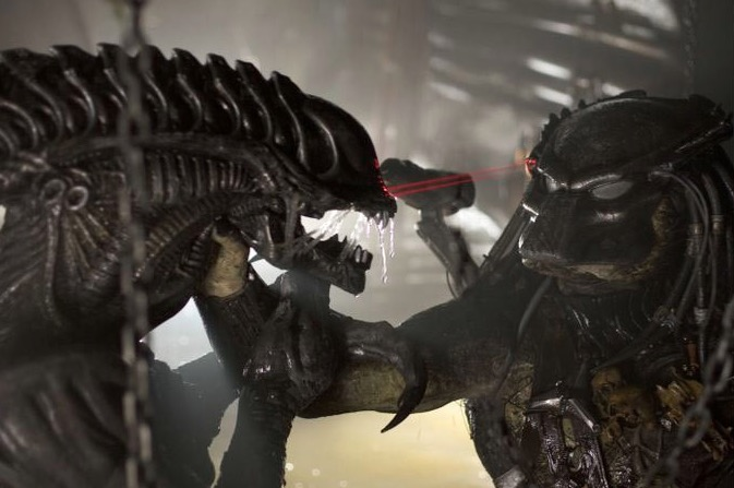 Alien vs Predator, image via FOX