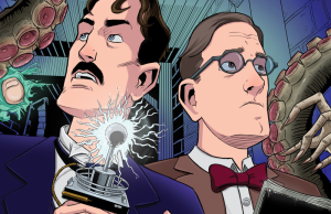 herald__lovecraft_and_tesla_issue_01_cover_by_mistermuck-d80lx2g