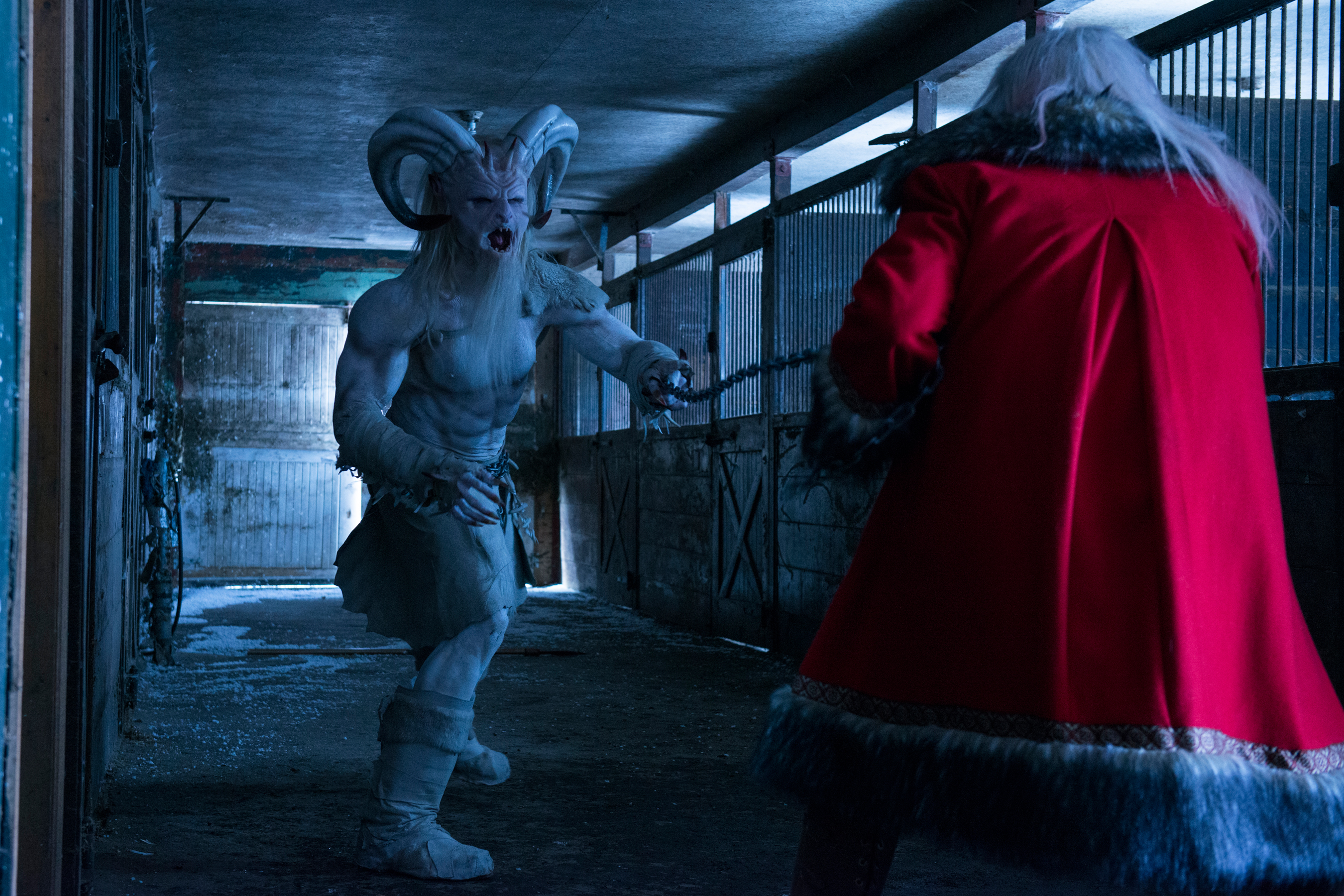 Last Year's Awesome Anthology 'A Christmas Horror Story' Just Hit Netflix!