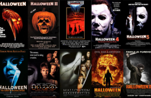 Halloween Movie Poster Ranking
