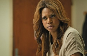 Laverne Cox plays Sophia in the new Netflix original series Orange Is the New Black.