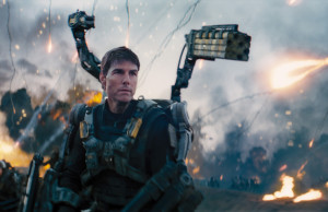 Tom Cruise in THE EDGE OF TOMORROW, via Warner Bros.