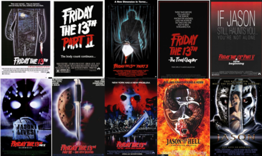 Image result for friday the 13th series