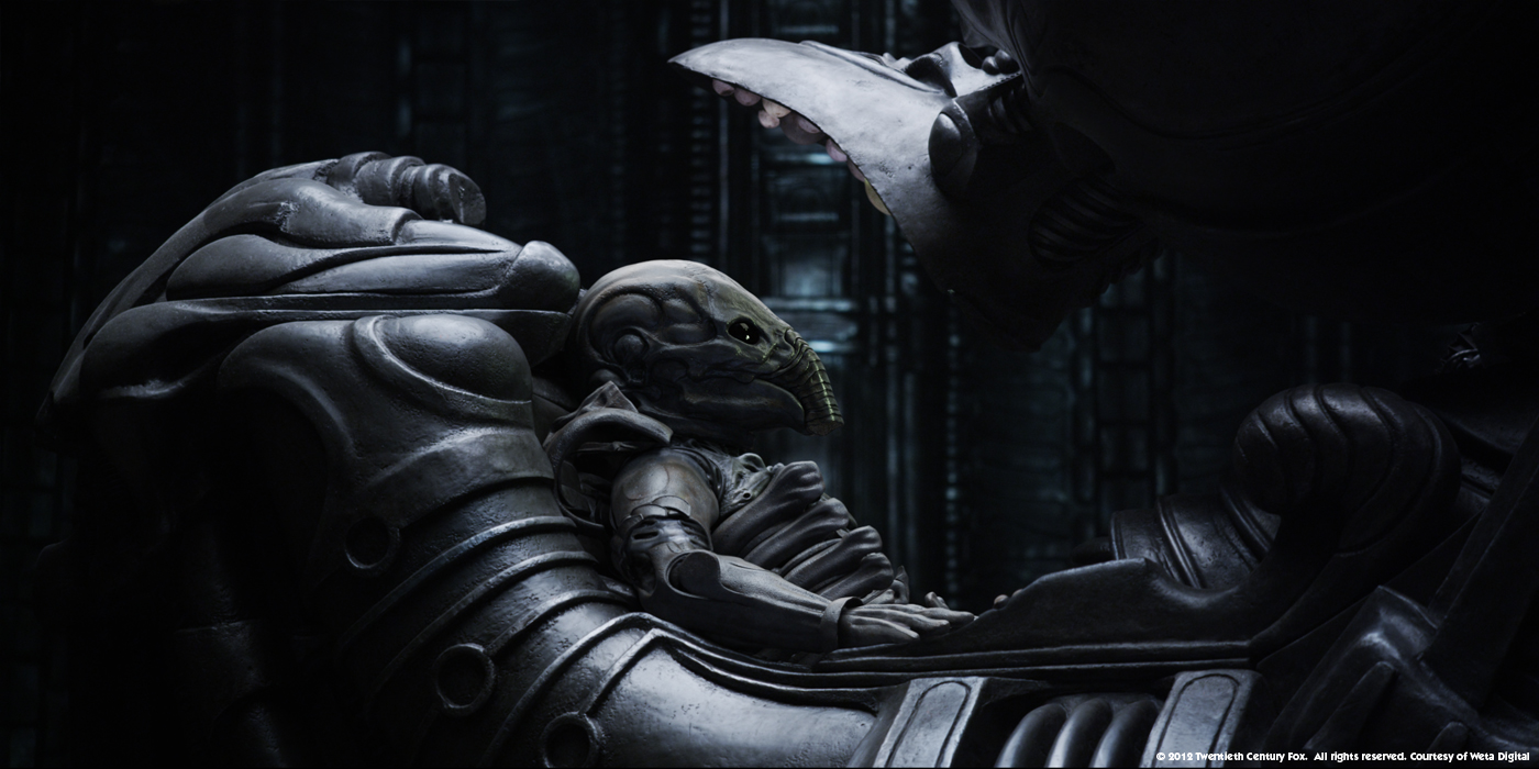 'Alien: Covenant' Behind-the-Scenes Clip Shows a New Alien ...